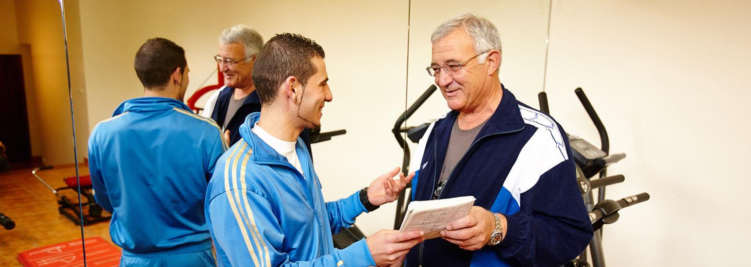 entrenamiento personal tercera edad