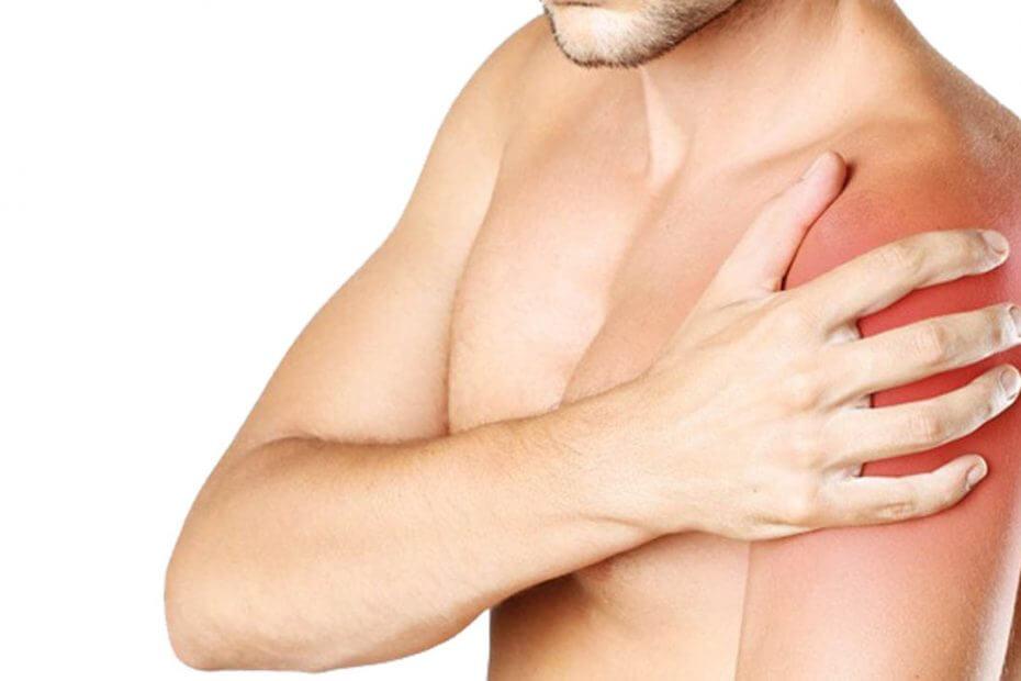 Test flexibilidad de hombro readaptación