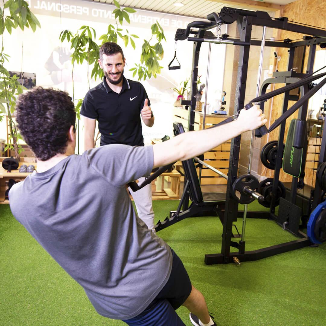 entrenamiento personal para bajar de peso