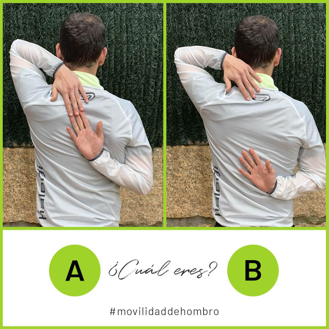test para flexibilidad de hombro