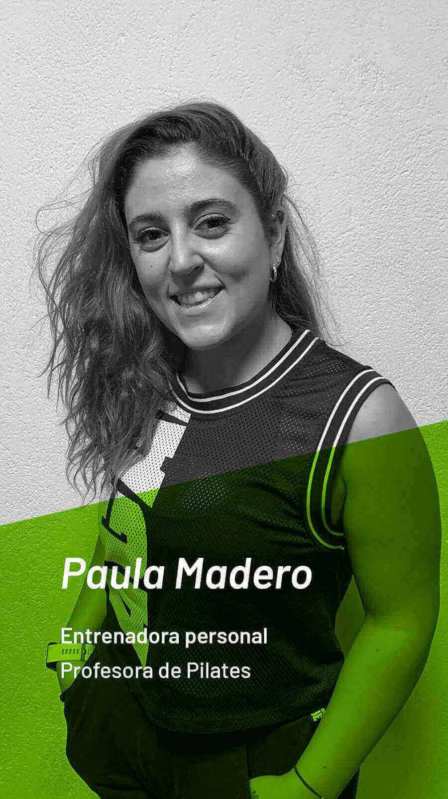 fotografia de nuestra entrenadora personal paula madero
