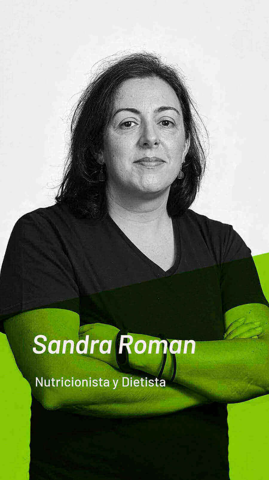 fotografia de nuestra nutricionista sandra román